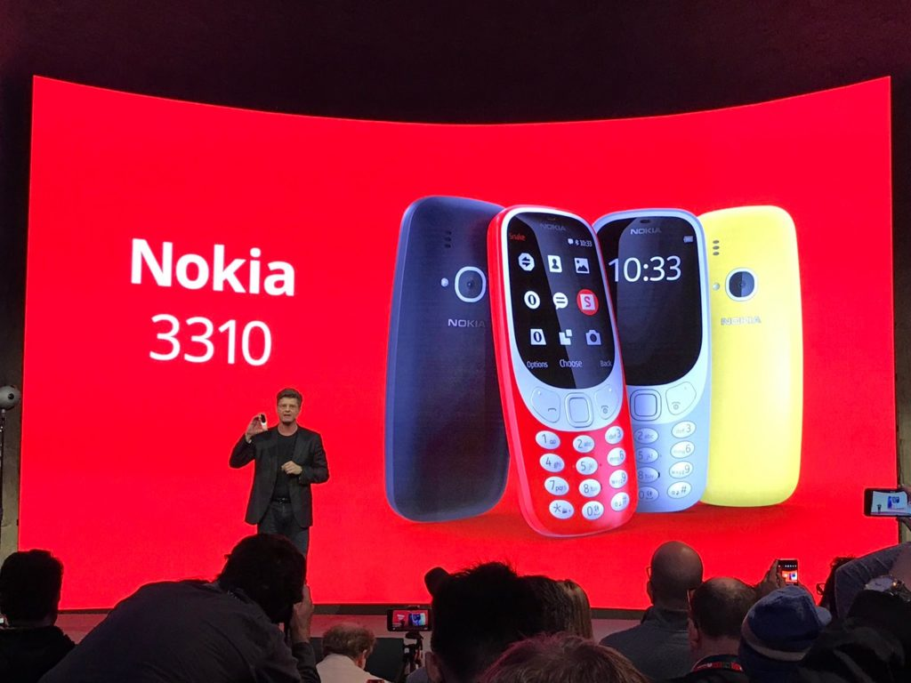 Reborn Nokia 3310 has been launched, See Specs and Price In Nigeria