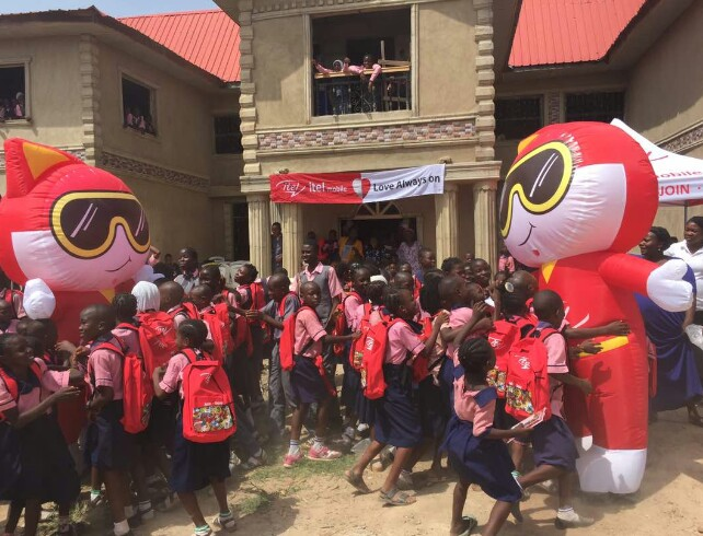 Itel Mobile Donates Bags, Writing Materials To School In Osun State