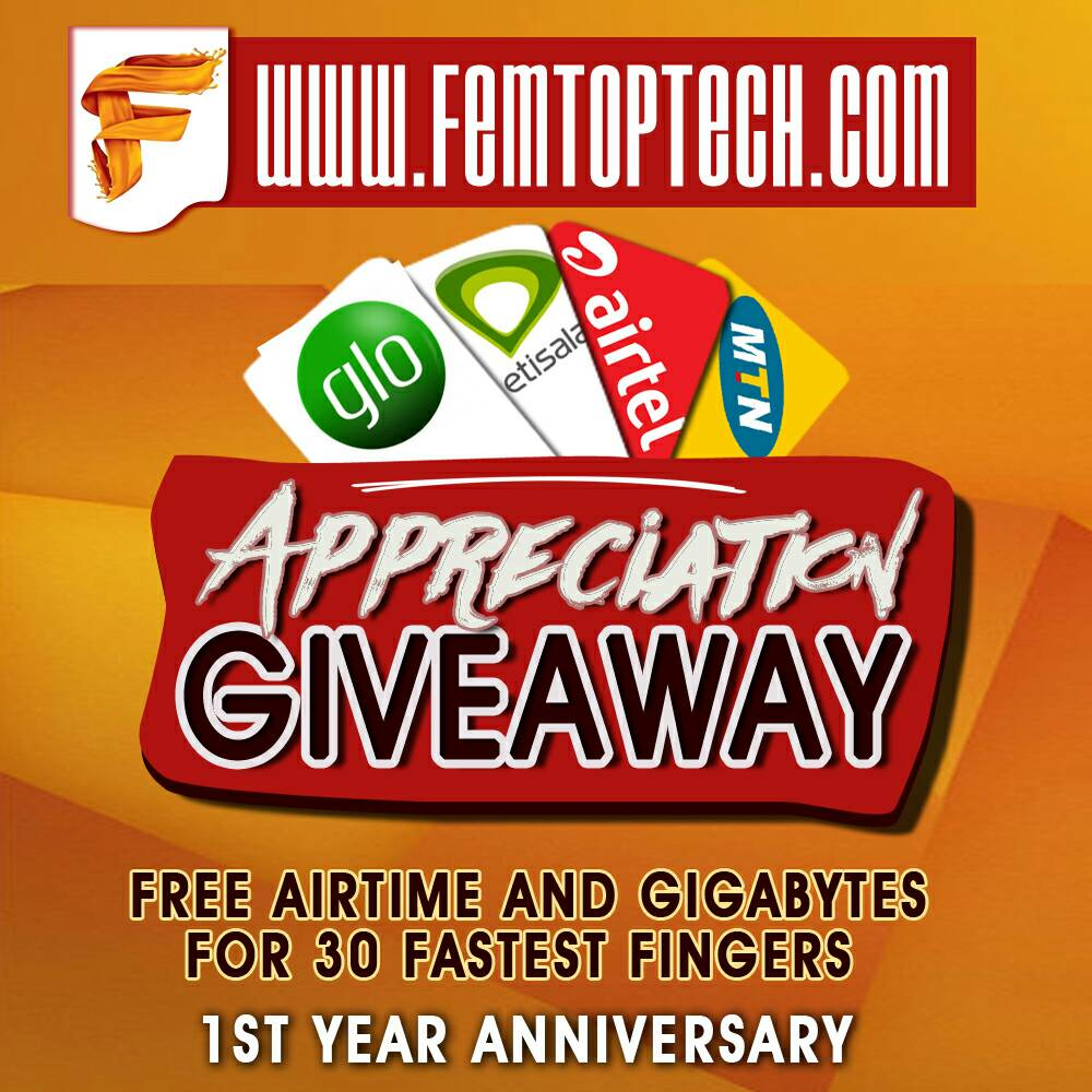 Our Appreciation Giveaway Goes Live By 7 pm, Don't Miss It