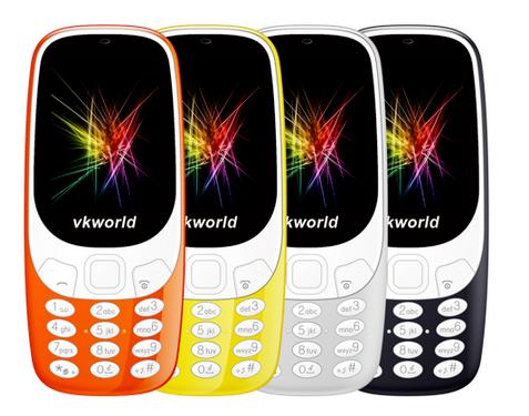 Vkworld Z3310 is Nokia 3310 (2017) doppelganger with better specs