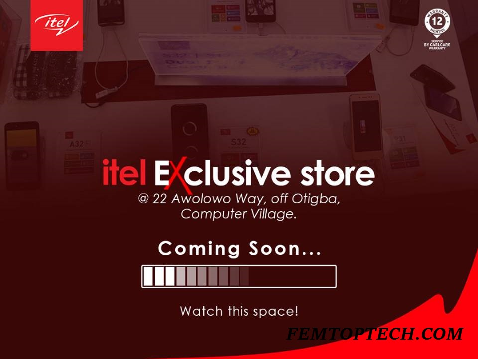Itel Mobile To Unveil Her First Ever Exclusive Store In Lagos On June 7