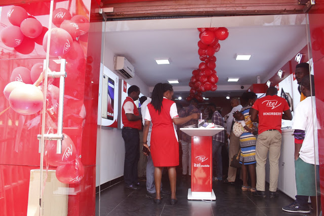 Itel Mobile launches first ever exclusive store in Nigeria