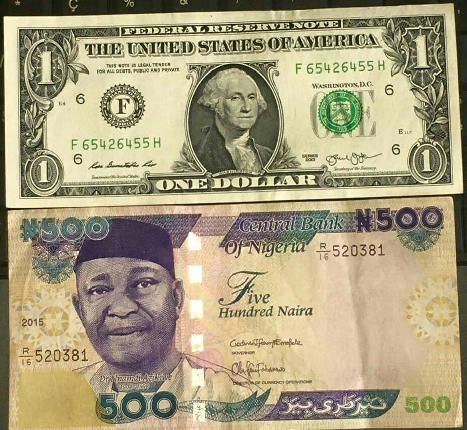 How Much Is 1 Dollar, Pound, Euro To Naira Exchange Rate Today