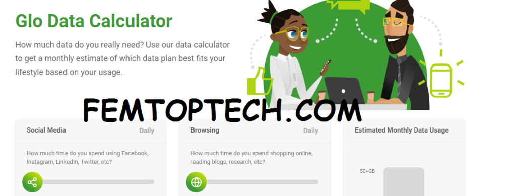 How Glo Data Calculator Works?